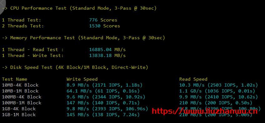 #投稿#安国云:1核/1G/20G硬盘/1Mbp不限流量/香港cdia/月付18元,附测评